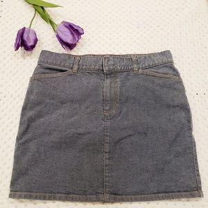 GAP Hip Hugger Denim Skirt